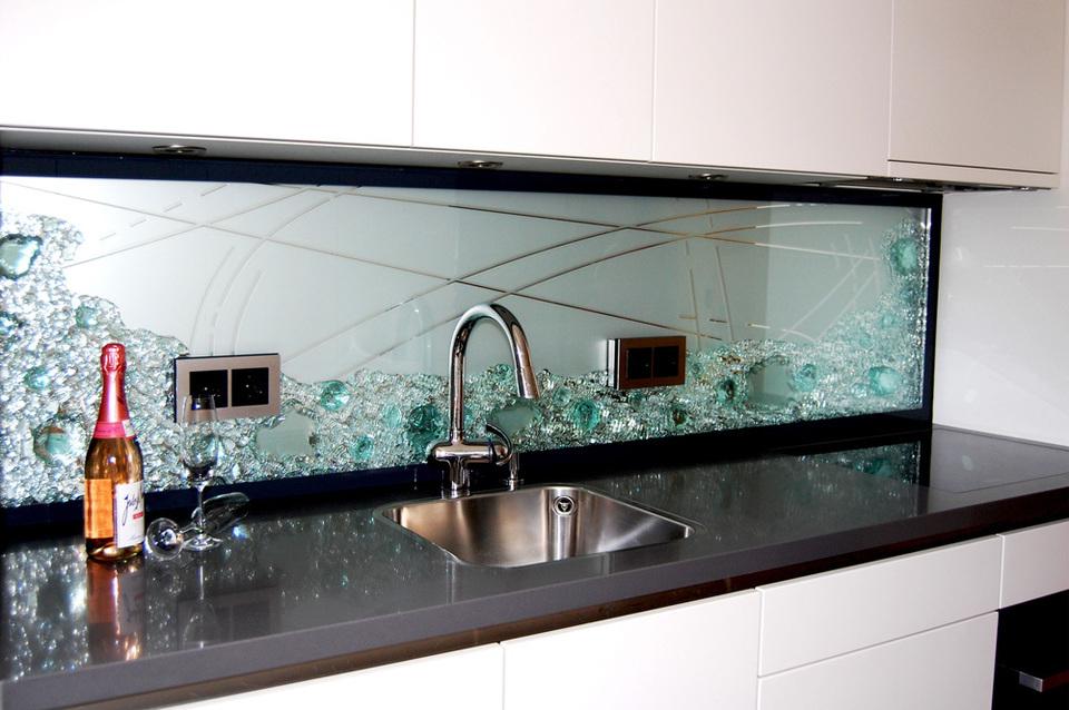 Küchenrückwand aus glas  Küchenrückwand - Projekte - Jostmann Glasmalerei