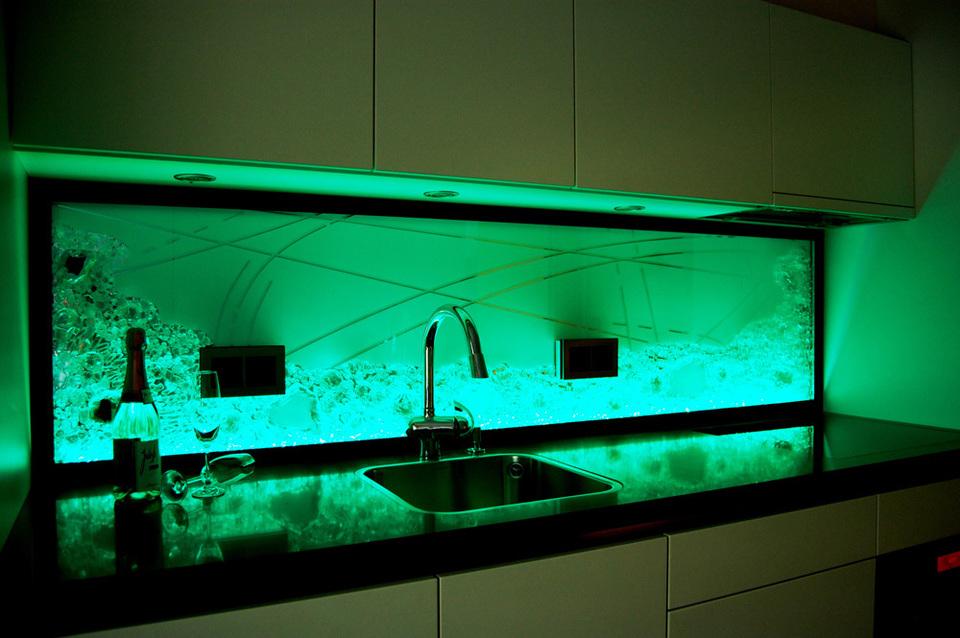Küchenrückwand - Projekte - Jostmann Glasmalerei
